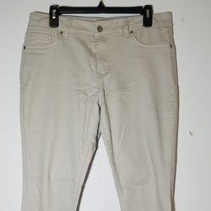 Denim - Tan Jeans